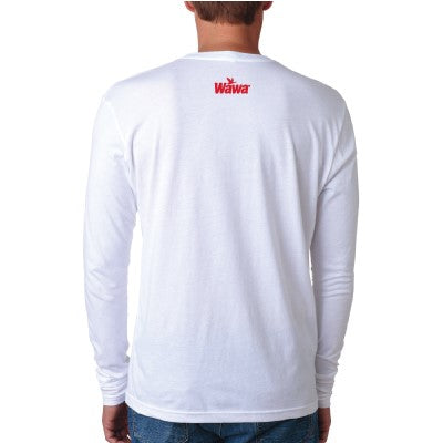 Wawa Vintage Logo Long Sleeve White T-Shirt