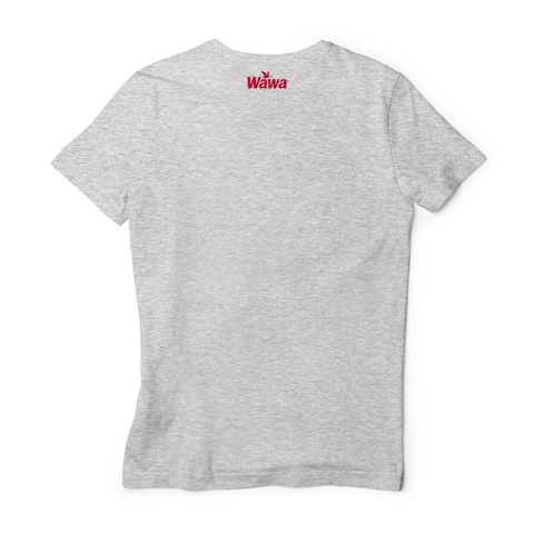 Wawa CITY OF HOAGIE LOVE Grey Soft T-Shirt