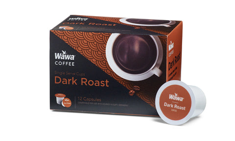 Wawa Dark Roast Single Cup Coffee