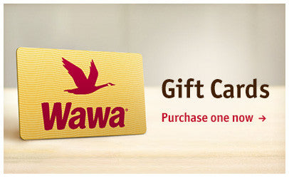 Wawa Gift Cards: Purchase one now