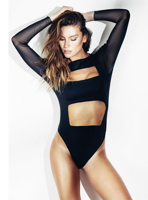 Cutout Body Suit