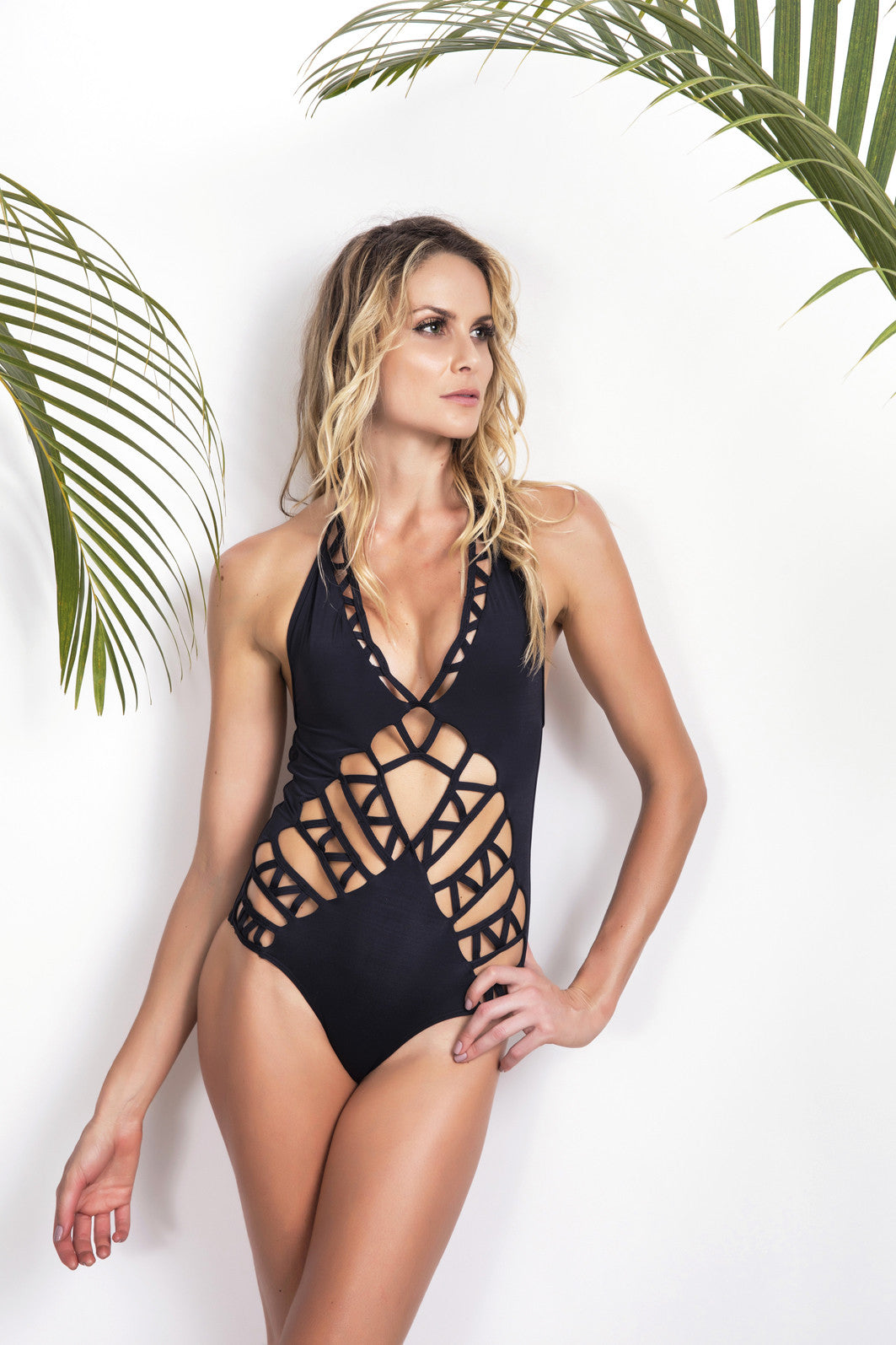 Summer edition Limited Cutout Handmade One Piece Swimsuit