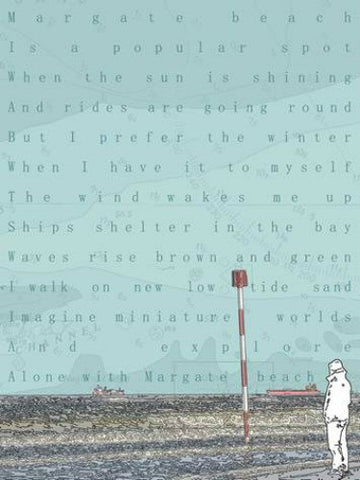 Alone With Margate Beach by Chris Snow (Limited Edition Print)