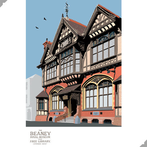 The Beaney, Canterbury by Andy Tuohy (Limited Edition Print)