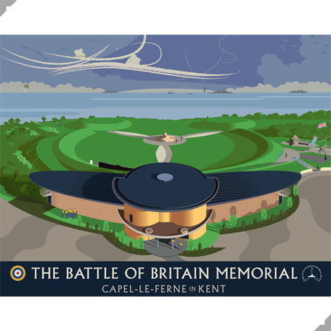 Battle of Britain Memorial, Capel le Ferne by Andy Tuohy (Limited Edition Print)