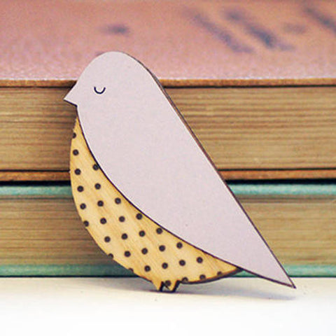 Bird Brooch by Lucy Alice