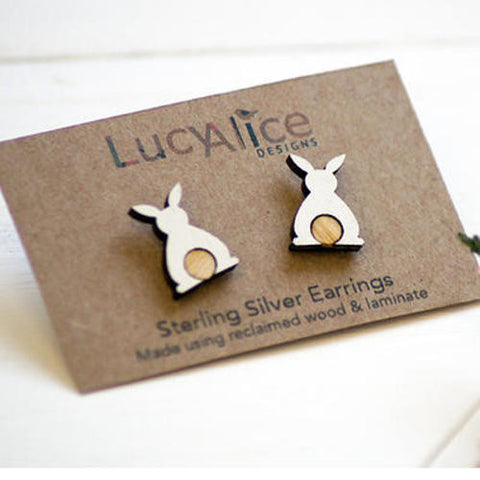 Bunny Earrings by Lucy Alice