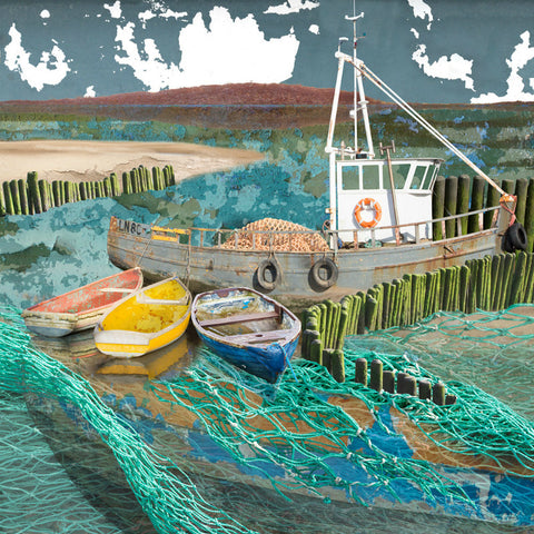 NEW Seascape 57 by Claire Gill (Limited Edition Print)