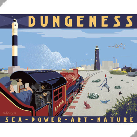 Dungeness Poster by Andy Tuohy