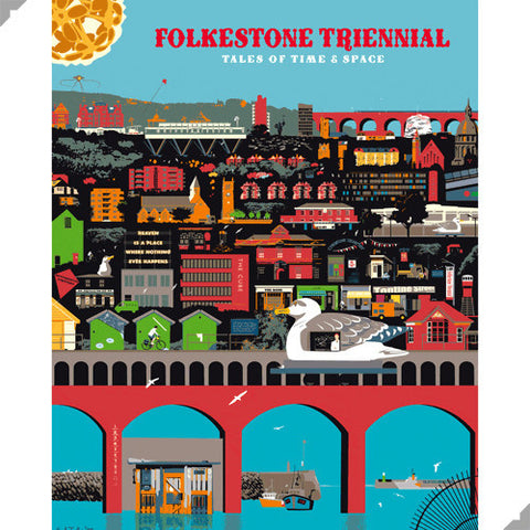 Folkestone Triennial Poster by Andy Tuohy