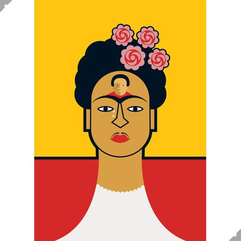 Frida Kahlo by Andy Tuohy (Limited Edition Print)