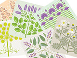 Lombard Street Gallery Margate Jenny Duff designer Gillian Blease table mat coaster 6 mix herb