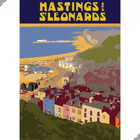Hastings & St. Leonards by Andy Tuohy (Limited Edition Print)