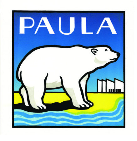 Paula the Polar Bear by Hugh Ribbans (Limited Edition Print)