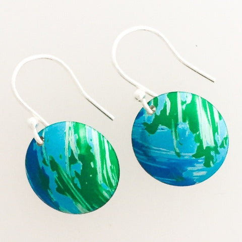 Small Dome Earrings by Lisa Marsella