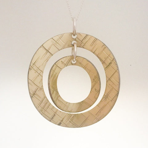 Circle Pendant by Lisa Marsella