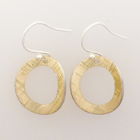 Circle Earrings by Lisa Marsella