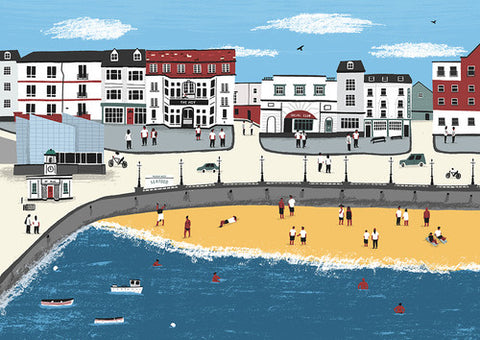 Margate cityscape print by Alex Foster (Limited Edition Print)