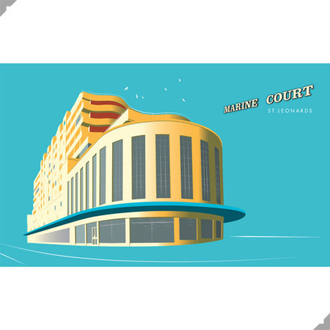 Marine Court by Andy Tuohy (Limited Edition Print)