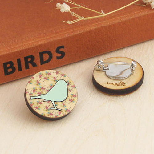 Lombard Street Gallery Margate Lucy Alice Miniature Robin Brooch