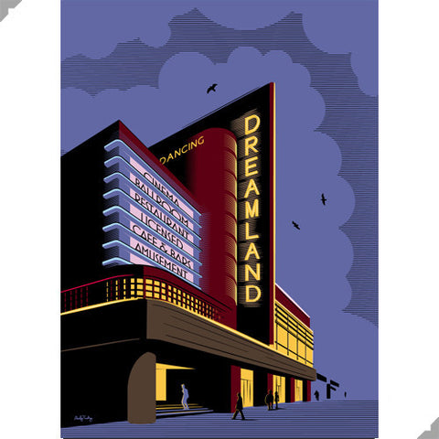 Dreamland Cinema, Margate by Andy Tuohy (Limited Edition Print)