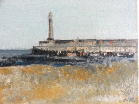 Harbour Arm, Margate by Nick Kelly (Acrylic on Canvas)