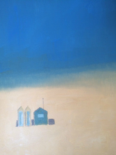 Lombard Street Gallery Margate Nick Kelly Beach Huts Sand and Sea