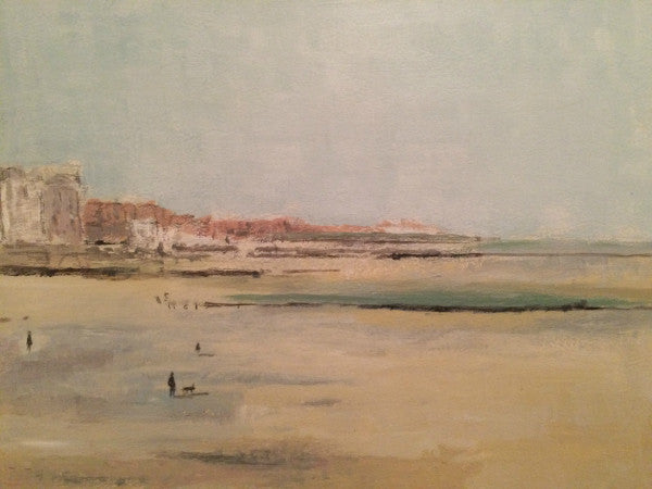 Lombard Street Gallery Margate Nick Kelly Low Tide Margate Looking West