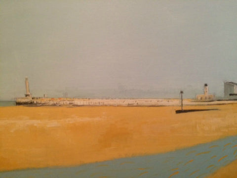 Springtime on Margate Sands by Nick Kelly (Acrylic on Canvas)