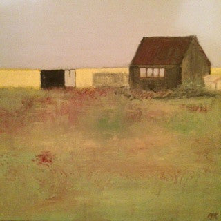 The Hermitage - Dungeness by Nick Kelly (Acrylic on Canvas)