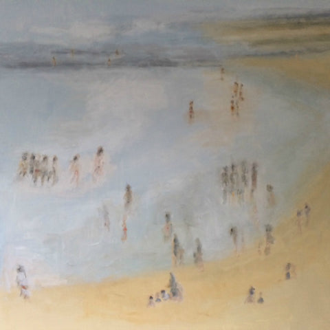 Low Tide by Nick Kelly (Acrylic on Canvas)