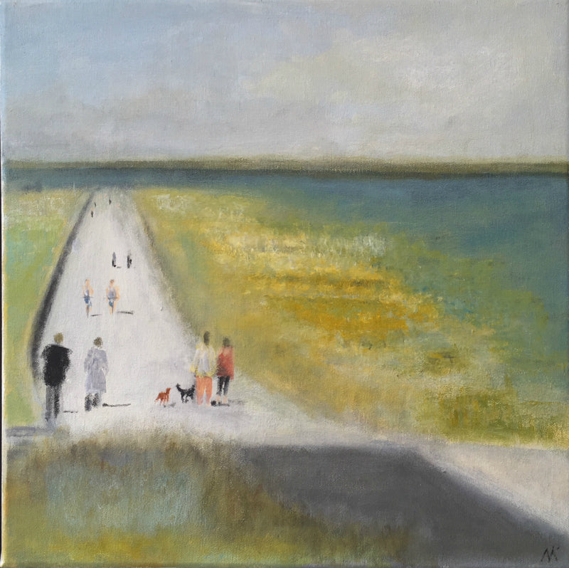 Nick Kelly On the Promenade Swalecliffe Lombard Street Gallery Margate