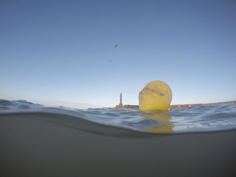Margate Harbour Sandy Buoy by Ross Andrews (Original print in an edition of 89)