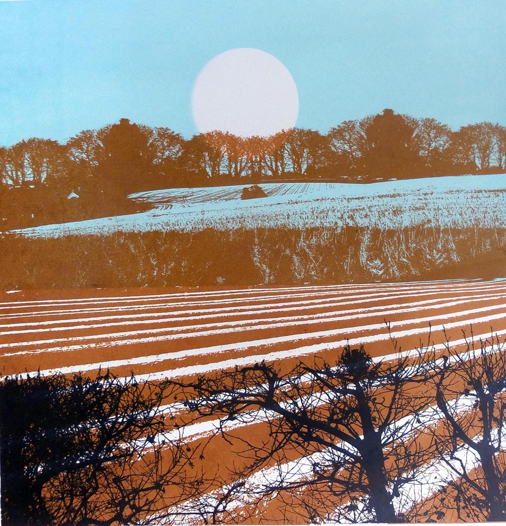 Lombard Street Gallery Margate Ruth McDonald artist printmaker Stalisfield Earth