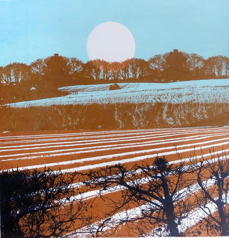 Stalisfield Earth by Ruth McDonald (Limited Edition Print)