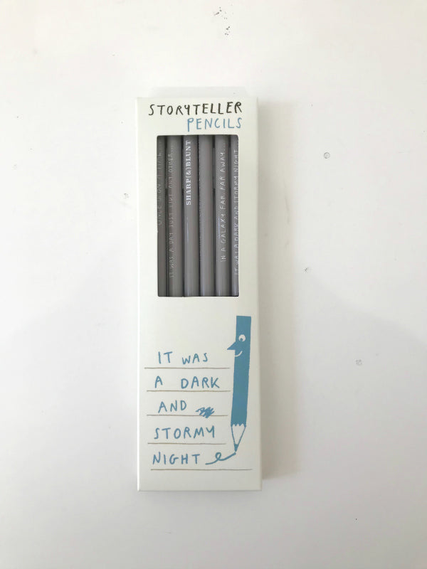 Storyteller Pencils It was a dark and stormy night Lombard Street Gallery Margate