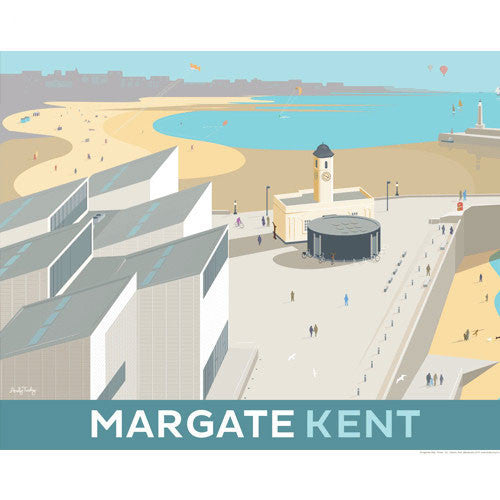 Lombard Street Gallery Margate Andy Tuohy Turner Contemporary Margate Poster