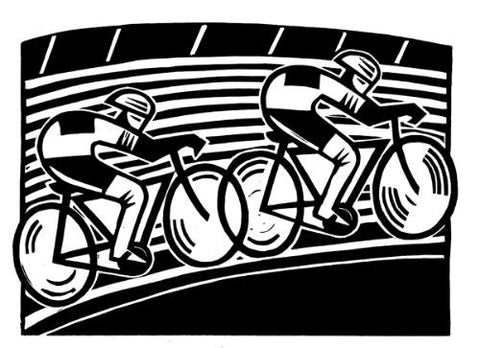 Velodrome by Hugh Ribbans (Limited Edition Print)