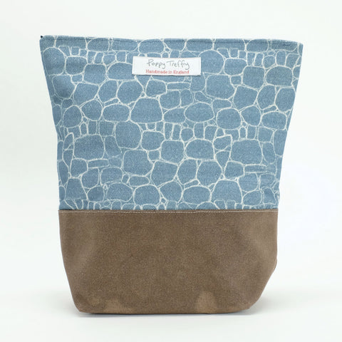Drystone Wall Washbag by Poppy Treffry