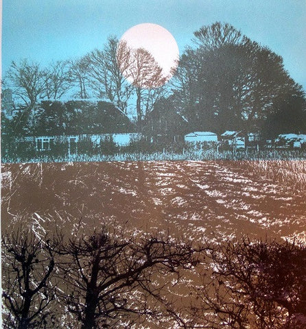 Dusk at the Farm by Ruth McDonald (Limited Edition Print)