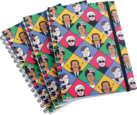 Modern Artists Notebook by Andy Tuohy