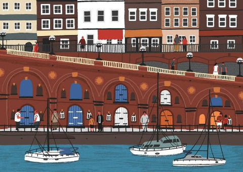 Ramsgate harbourscape print by Alex Foster (Limited Edition Print)