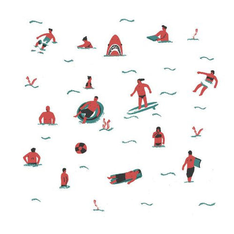 Swimmers by Alex Foster (Limited Edition Print)