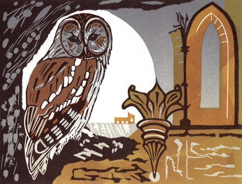 Tawny Owl by Pam Grimmond (Limited Edition Print)