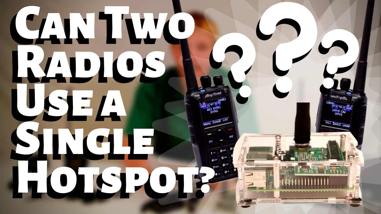 Can Two DMR Radios Use the Same DMR Hotspot?