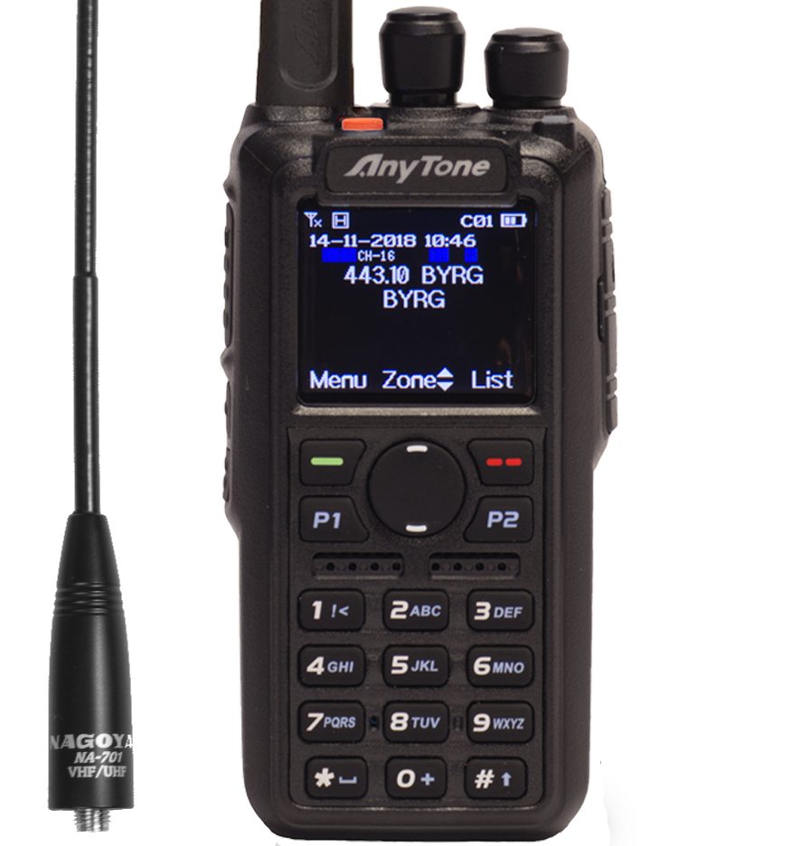 Any Tone DMR radio At-D868UV
