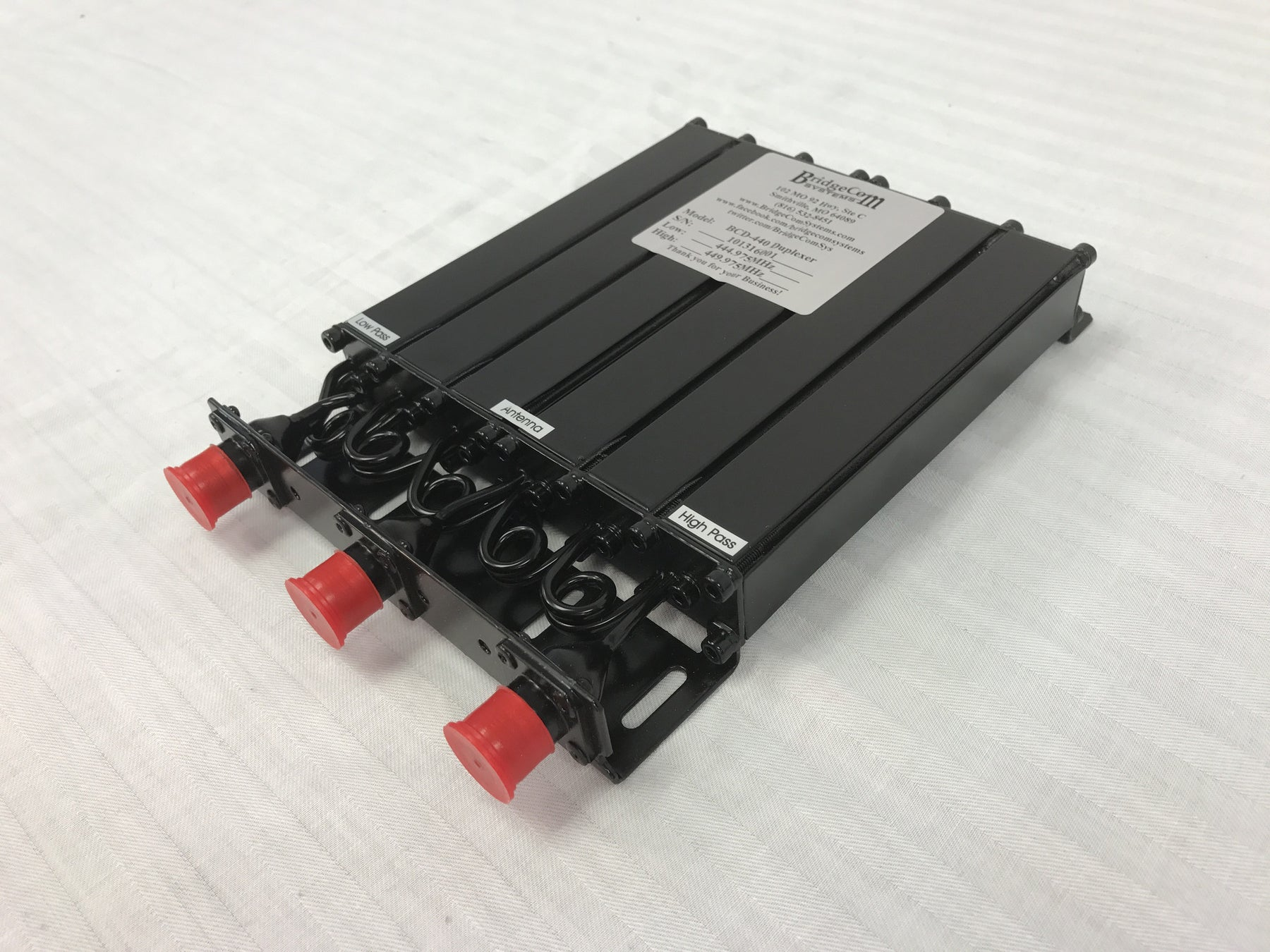 BridgeCom Systems New BCD Series Duplexers