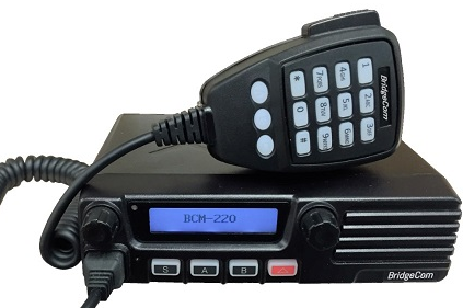 Review: BridgeCom Systems BCM-220 222 MHz FM Transceiver by QST