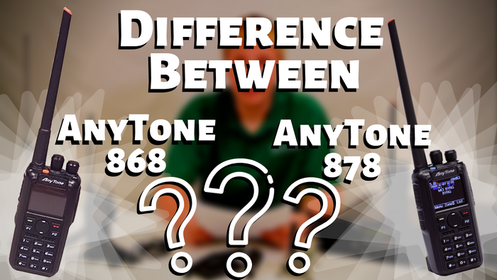 What is the Difference Between AnyTone 868 and 878 PLUS Bluetooth?