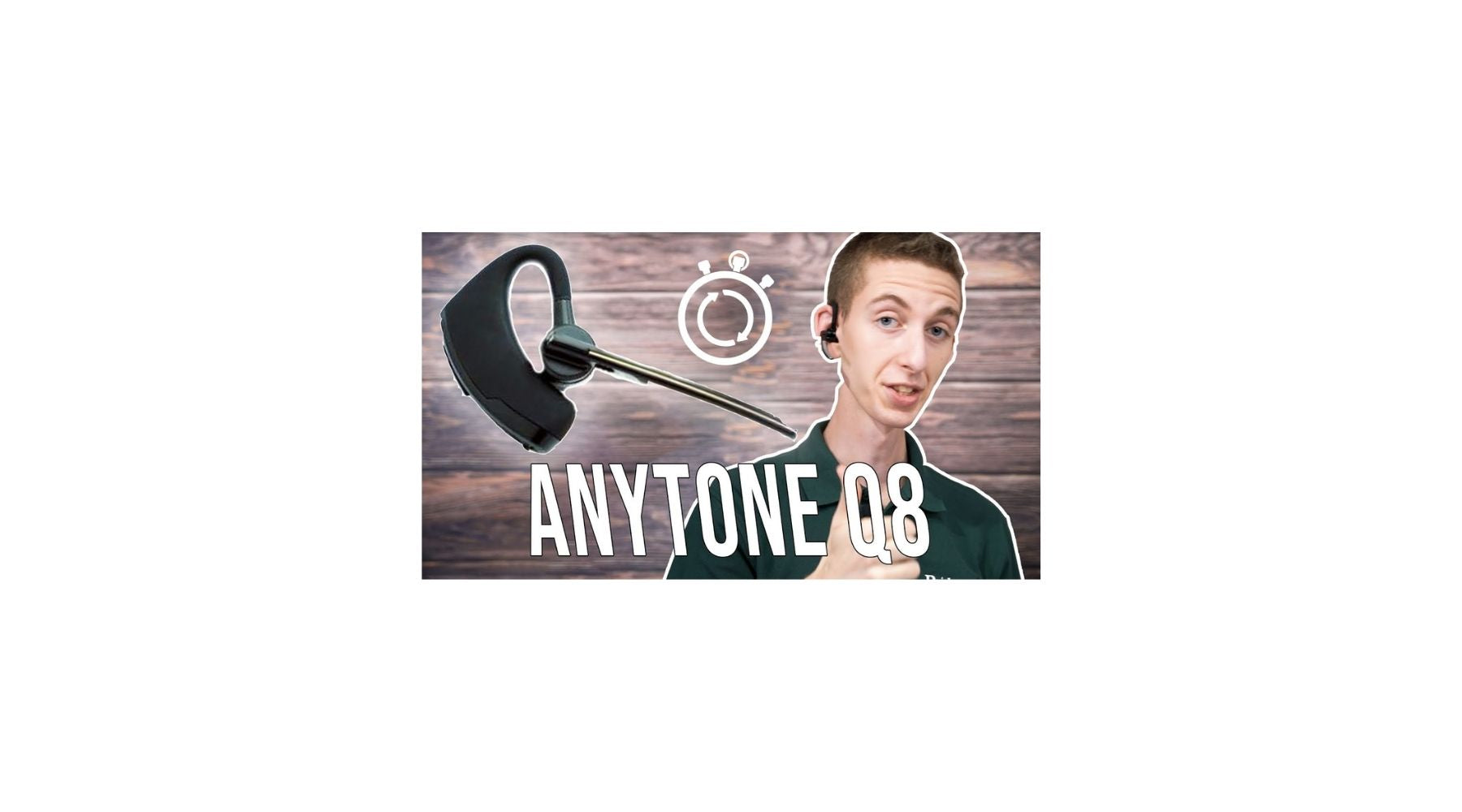 AnyTone Q8 Bluetooth Earpiece Quick Start Guide